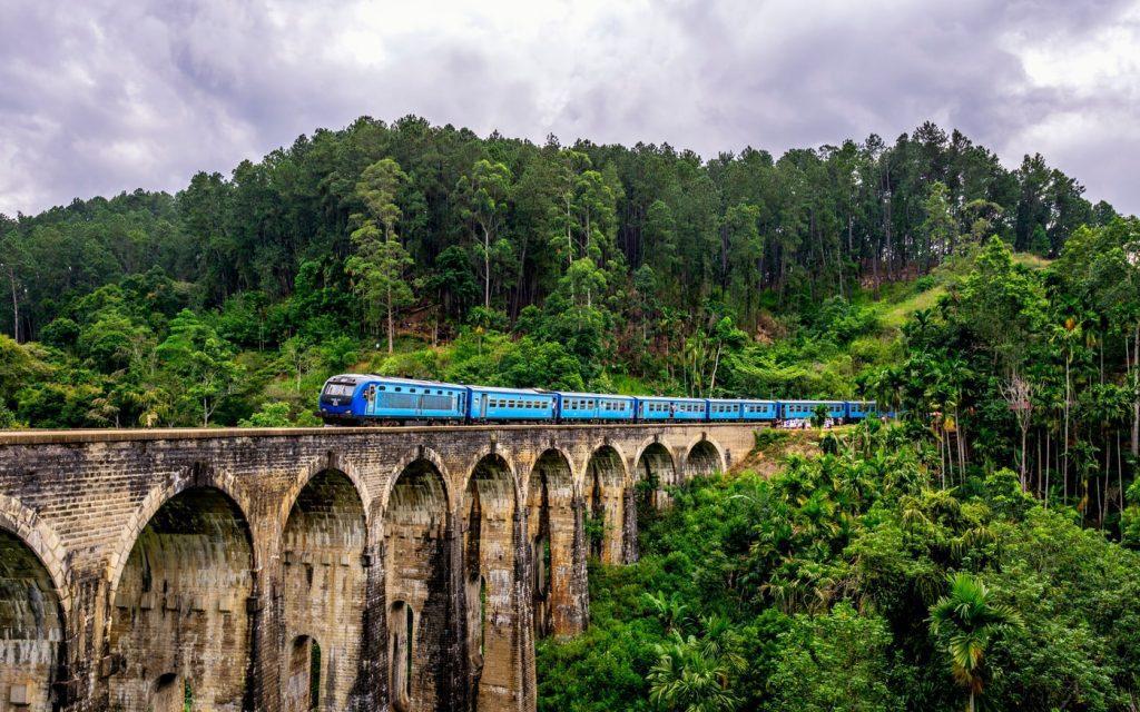 Ella Sri Lanka pociąg na moście