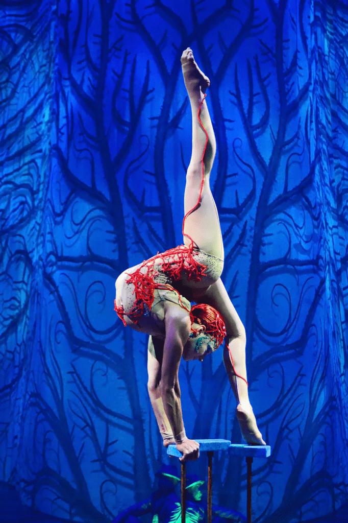 Joya akrobatka Cirque du Soleil Meksyk