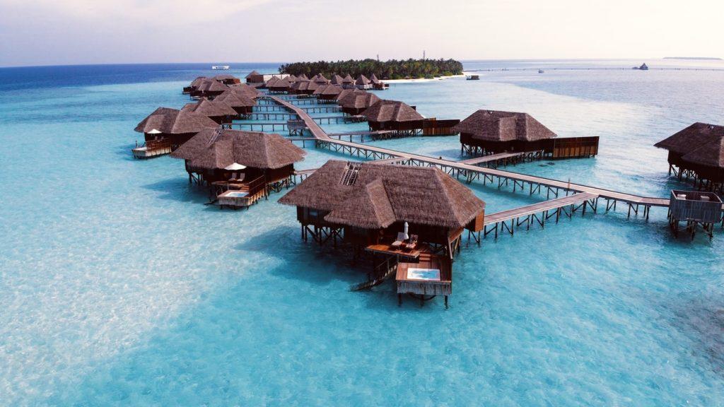 Malediwy domki