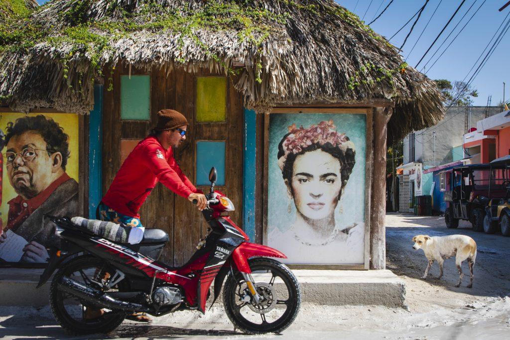 Meksyk Wyspa Holbox Frida
